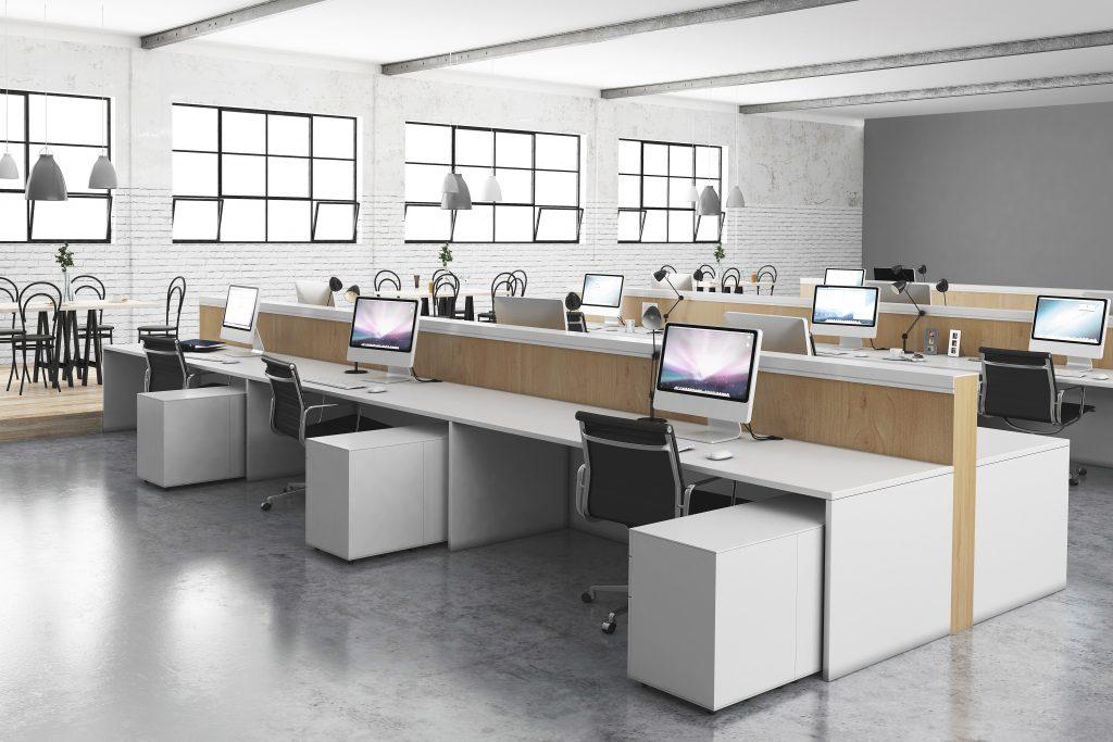 Kantor Formal Yang Modern